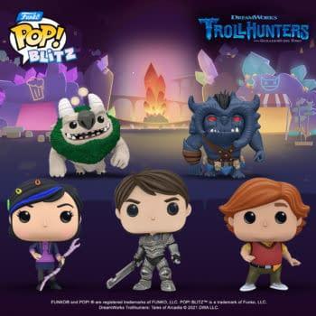 Guillermo Del Toro's Trollhunters Comes To Funko Pop! Blitz