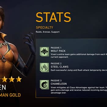 Vixen Comes To Injustice 2 Mobile With A Major Update