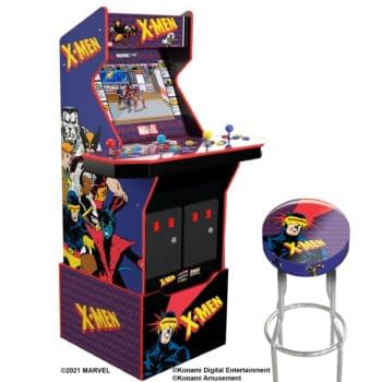 Arcade1Up Releases Details For Four-Player X-Men Cabinet