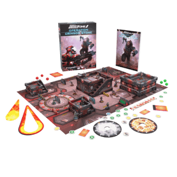Infinity CodeOne's Operation: Crimson Stone Available For Preorder