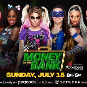 WWE Money in the Bank - Women's Ladder Match Kicks Off the Live Event
