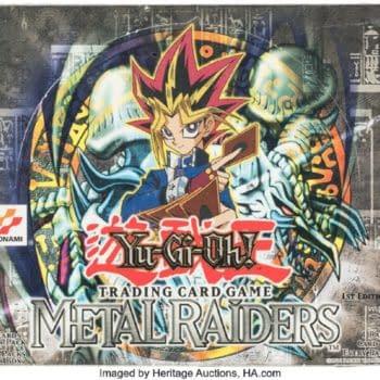 Rare Yu-Gi-Oh! Box Of 1st Ed Metal Raiders On Auction At Heritage