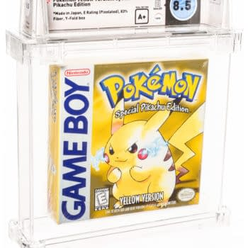 Pokémon Yellow Version (Wata-8.5 A+ Graded) At Heritage Auctions