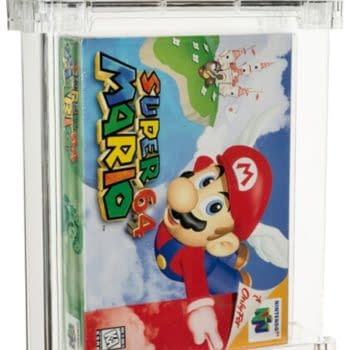Super Mario 64 Game Sells On Auction For $1.56 Million At Heritage