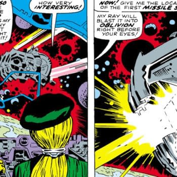 Captain America #100 (Marvel, 1968) interior page.