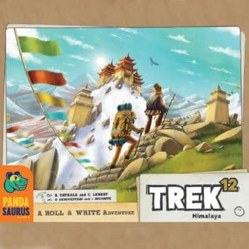 Trek 12 by Pandasaurus Games Coming To The Tabletop In November