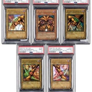 Yu-Gi-Oh! Full Legend Of Blue Eyes Exodia Set At Heritage Auctions