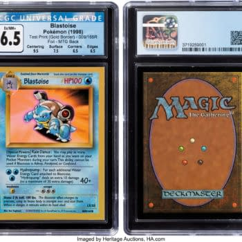 Unique Chance to Own a Pokémon TCG Test Card With a Magic Back
