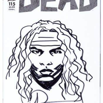 "Own a Charlie Adlard ""The Walking Dead"" Original Today"