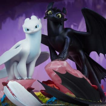 How to Train Your Dragon Light Fury Statue Revealed at Sideshow