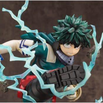 My Hero Academia Deku Power Up With New Kotobukiya Statue