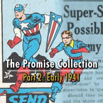 Captain America Comics #1 with January 23, 1941 AP newswire story.