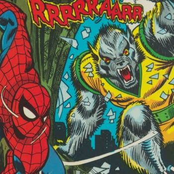 The Amazing Spider-Man #124 featuring Man-Wolf (Marvel, 1973).