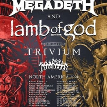 Megadeth And Lamb Of God Soon To Kick Off 2021 North American Tour