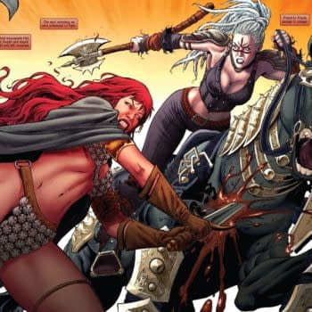 Gail Simone Talks About Writing Red Sonja Ahead Of Her Return