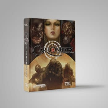 Carbon Grey TTRPG By Magnetic Press Play Funded On Kickstarter