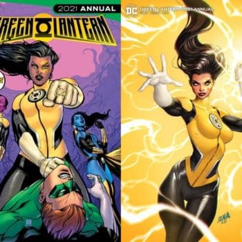 Yes, Jo Mullein Will Become A Yellow Lantern