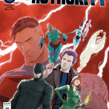 Cover image for SUPERMAN AND THE AUTHORITY #2 (OF 4) CVR A MIKEL JANIN
