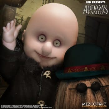 Mezco Toyz Announces New The Addams Family Fester and It Dolls