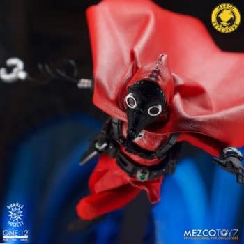 Mezco Toyz Secretly Dropped One: 12 Doc Nocturnal: Red Death Edition