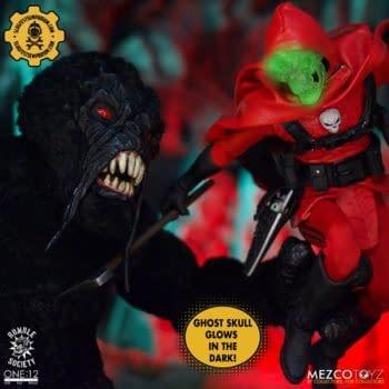 Mezco Toyz Secretly Unleashes the Black Mold Mossquatch