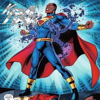 President Superman Still Protects DC Comics' Chain-Breaking Trademark