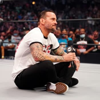 CM Punk returns to wrestling at AEW Rampage: The First Dance [Photo: All Elite Wrestling]