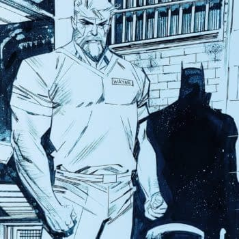 Sean Gordon Murphy Previews His Unnamed Unannounced Batman Comic