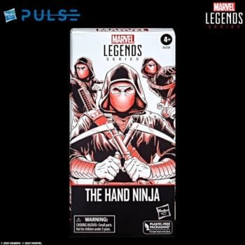 Hasbro Reveals New Army Building Figure with Marvel Legends The Hand