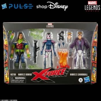 The X-Force Arrives With Special Marvel Legends 3-Pack from Hasbro