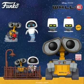 Funko Blasts off to the Future with a Huge Wave of Wall-E Pop Vinyls
