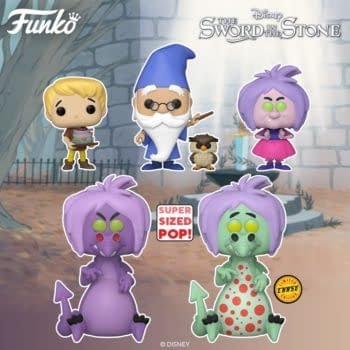 Funko Revisits Disney's Sword in the Stone with New Pop Vinyls