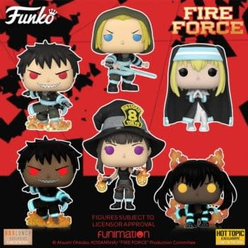 Funko Turns Up the Heat With Their New Fire Force Pop Vinyls