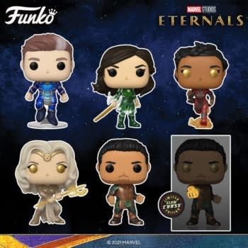 The Eternals Arrive With Massive Wave of MCU Pops From Funko