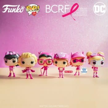 DC Bombshells Are Back With New Breast Cancer Pops From Funko