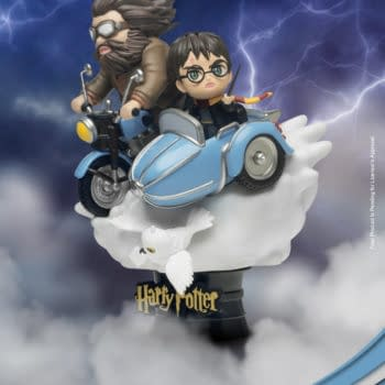 Harry Potter Gets New D-Stage Statues From Beast Kingdom