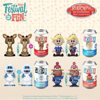 Crack Open Some New Funko Soda Cans With Holiday Flavor