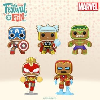 Funko Bakes Up Some Marvel Gingerbread Pops For Festival of Fun