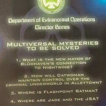 Yet More Multiversal Mysteries In Next Week's DC Comics (Spoilers))