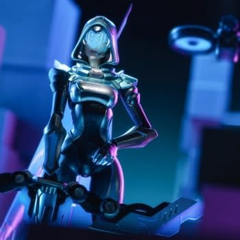 League of Legends Ashe 1/8 Scale Figure Coming in 2022 From Apex
