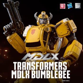 Threezero Reveals New Transformers MDLX Figure with Bumblebee