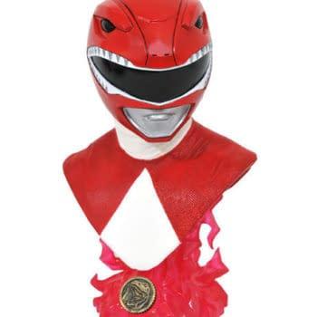 Power Rangers Red Ranger Receives 1,000 Piece Diamond Select Statue