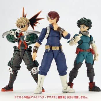 My Hero Academia Todoroki Gets His Own Revoltech Figure