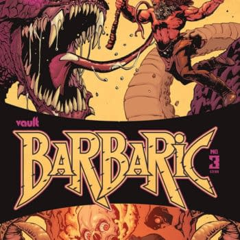 Vault to Expand Barbaric Franchise New Comic, Spinoffs in 2022