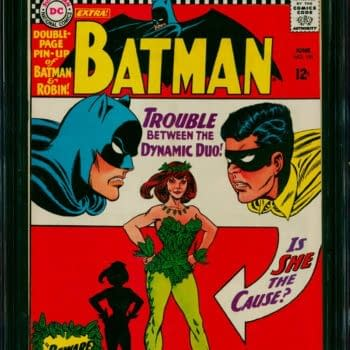Batman #181 CGC 9.6 First Poison Ivy On Auction Today