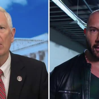 Dave Bautisa has no love for Alabama Congressman Mo Brooks, an ally of Bautista's longtime political rival, former president and fellow WWE Hall-of-Famer Donald Trump