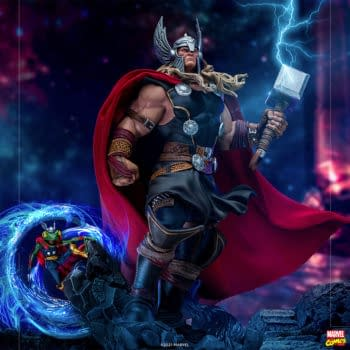 Iron Studios Unleashed the Power of Thor with New Marvel Statue