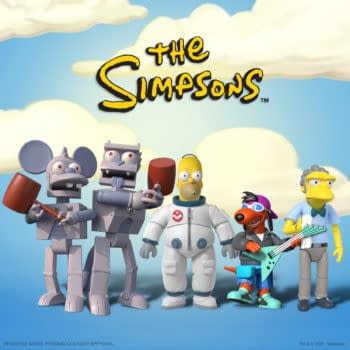 The Simpsons Ultimates Figures Up For Preorder At Super7