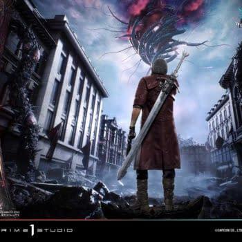 Devil May Cry 5 Dante Gets Devilish Statue From Prime 1 Studio