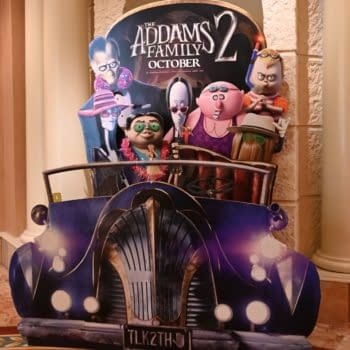 Addams Family 2 (2021) 3-D poster